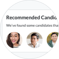 Recommended candidates